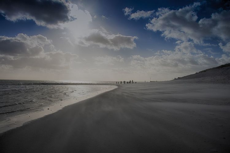 Sylt, Germany Sky Cloud - Sky Water Scenics - Nature Beauty In Nature Land Tranquil Scene Beach Sea Tranquility Nature Sand Non-urban Scene Horizon Incidental People Horizon Over Water Idyllic Day Outdoors