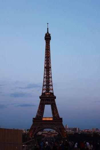The Eiffel Tower Paris Romantic Hello World ❤️