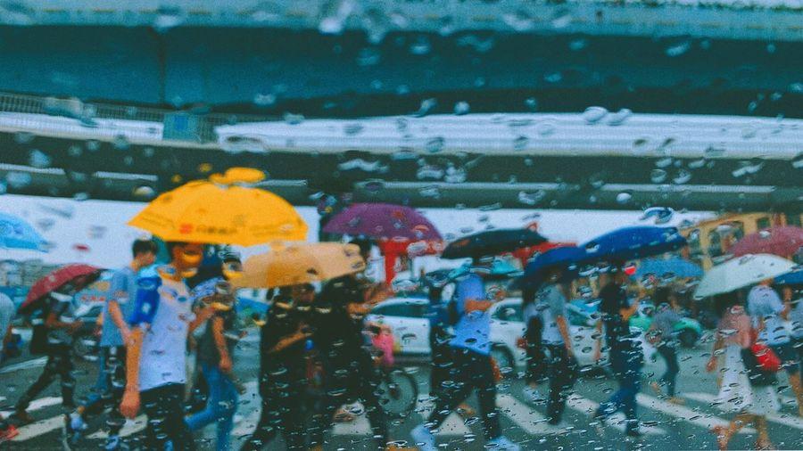 Wet Rain Water