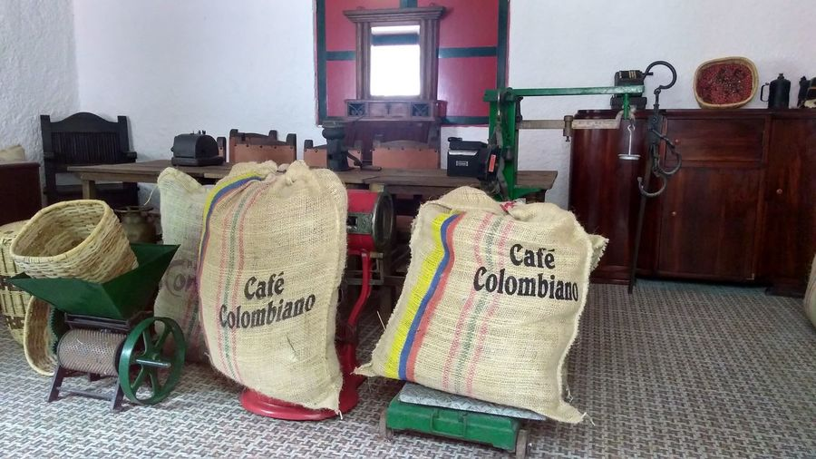 Café Colombiano Coffee Colombia Coffee Cafe Home Interior Indoors  No People Text Wood - Material