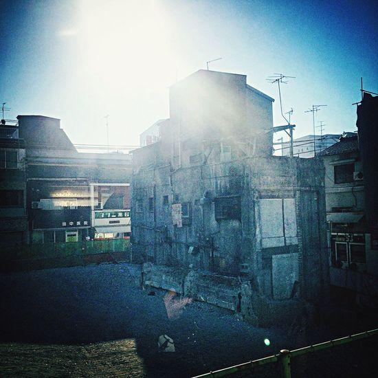 阪急淡路駅周辺の再開発が加速中。あと10年位かかるみたいですが、アッという間なんやろなぁ(^^) OSAKA Silhouette Skyporn Mylife IPhone Station