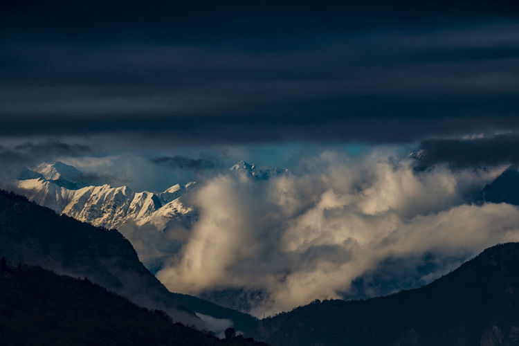 Mountains Beauty In Nature Cloud - Sky Landscape Landscape Photography Landscape_Collection Landscape_photography Landscapes Mountain Mountain Peak Mountain Range Mountains Mountains And Sky Nature Nature Nature Photography Nature_collection Nature_perfection Naturelovers No People Outdoors Scenics Sky Snowcapped Mountain