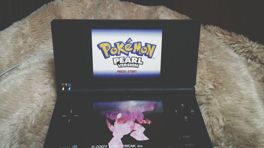 Great way to spend my night! Pokemon♥♥♥♥ Pokemon. Pokémon Pearl Pokemon Pearl Dsi Ds Nintendolife Nintendo Nintendodsi