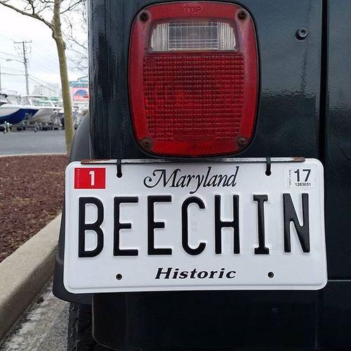 Of course they're in Ocean City.... Oceancitycool OceanCity Maryland Ocmd Licenseplate Vanitytag