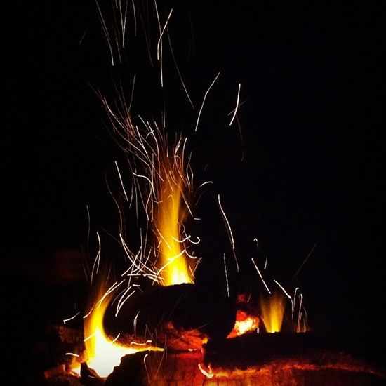 campfire with the great bunch. Pulauubin
