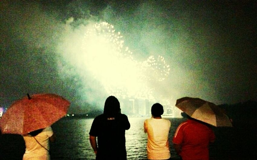 watching fireworks. credits goes to joey tristan