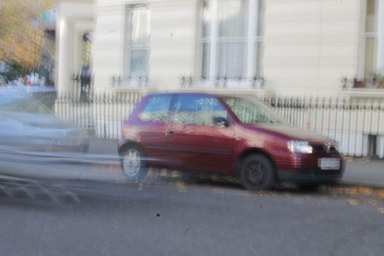 Blurry Bus Car
