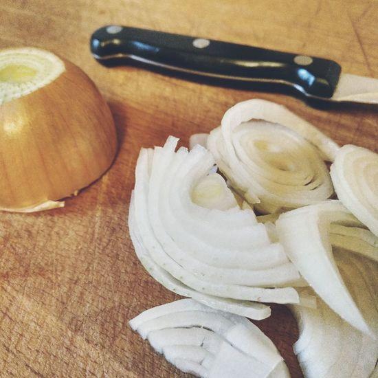 Food And Drink Preparing Food Preparation  Cooking Smell Peeled Vegetable Wooden Background Wooden Board Food Photography Vegan Food Veganism Vegan Vegetables EyeEm Selects Arrangement Cut Sliced Raw Knife Raw Food Food Onion Onions Close-up