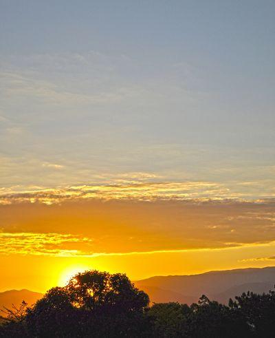 Sunset_collection Beautiful Nature Trees Sky And Clouds Serra Da Mantiqueira Pindamonhangaba Brazil
