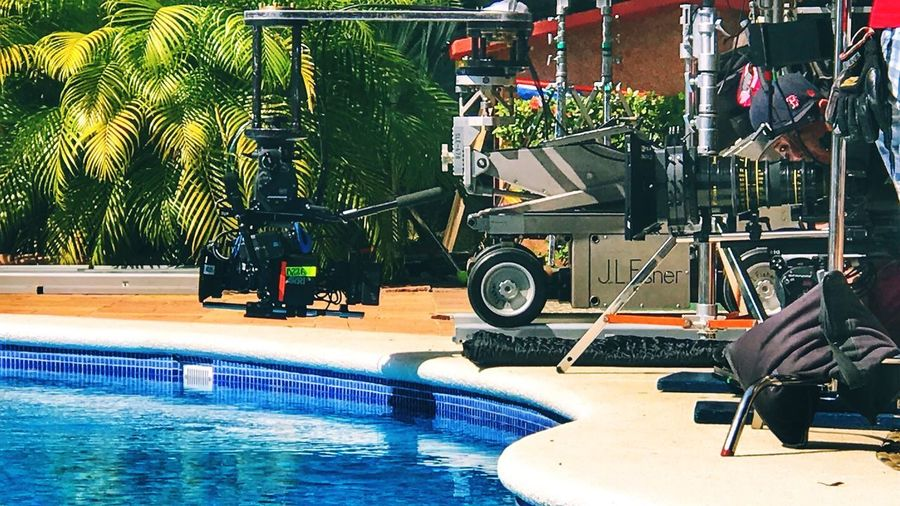 Cooke 25-250mm JL Fisher Alexa Mini ARRI Swimming Pool Water Day Outdoors Tree People One Person Adults Only Adult
