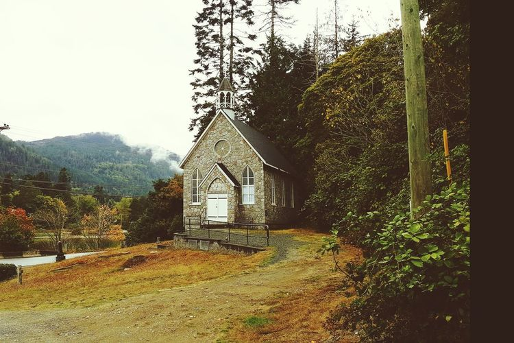 Church Architecture EyeEm Vision EyeEmNewHere Salt Spring Island Been There Built Structure Day Outdoors