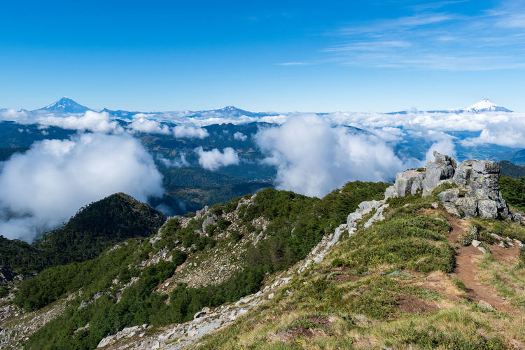 San Sebastian summit... Mountain Scenics - Nature Sky Beauty In Nature Environment Tranquil Scene Cloud - Sky Landscape Nature Mountain Range Day Non-urban Scene No People Tranquility Travel Destinations Plant Travel Tourism Idyllic Outdoors Mountain Peak Scenics Aroundtheworld Summit Sport