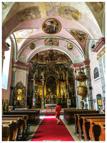 Church. Travel Destinations Turistic Attractions Tredition Hungary Men Place Of Worship Religion Arch Pew Architecture Built Structure