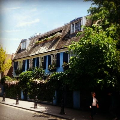 Notting Hill again ♥ Sunnyday Lovelyhouse Portobelloroad Nottinghill london uk