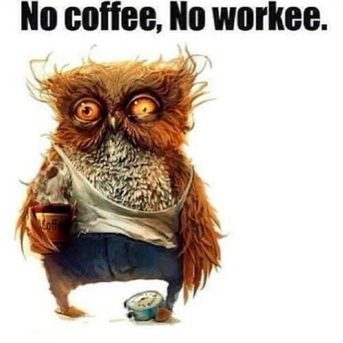 Caffeine is always needed. Morning Itsonlytuesday