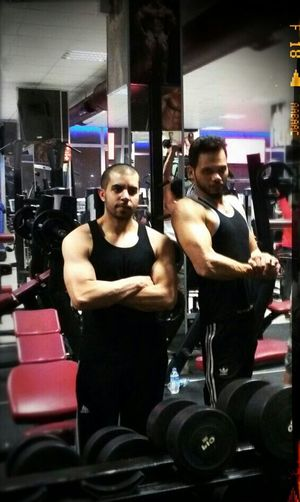 Train Hard In The Gym
