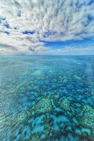 Sea Scenics Blue Outdoors Nature Beauty In Nature Refraction No People Water Day Landscape Sky UnderSea Hamilton Island Reef Australian Landscape Australia The Great Barrier Reef Perspectives On Nature