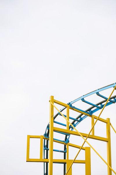 Brighton Pier Brighton Great Britain Amusementpark Minimalism England Roller Coaster Colors The Architect - 2016 EyeEm Awards