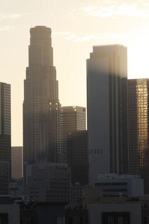 DTLA Los Angeles, California Architecture Building Exterior City Cityscape La La Land Modern Outdoors Sky Skyscraper Sunset