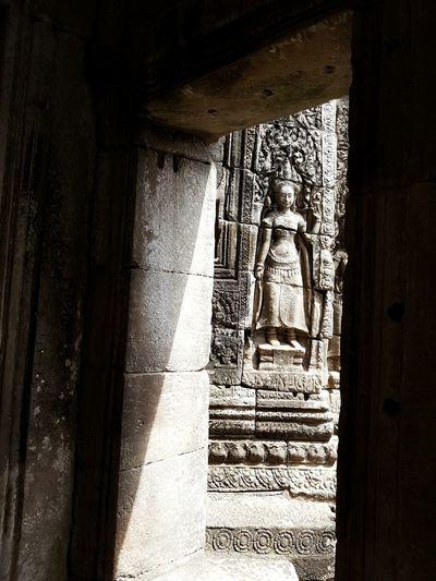 Cambodia Angkor Wat Angle Light And Shadows