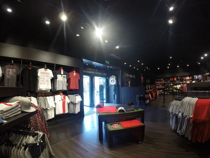 Inside The Official Liverpool Football Club Retail Shop... Liverpool City Centre...x Football Club Soccer Shirt Soccer Football Shirt Retail  Shop Football Liverpool Lfc YNWA Sports Shop First Eyeem Photo Clothes Footy Shopping