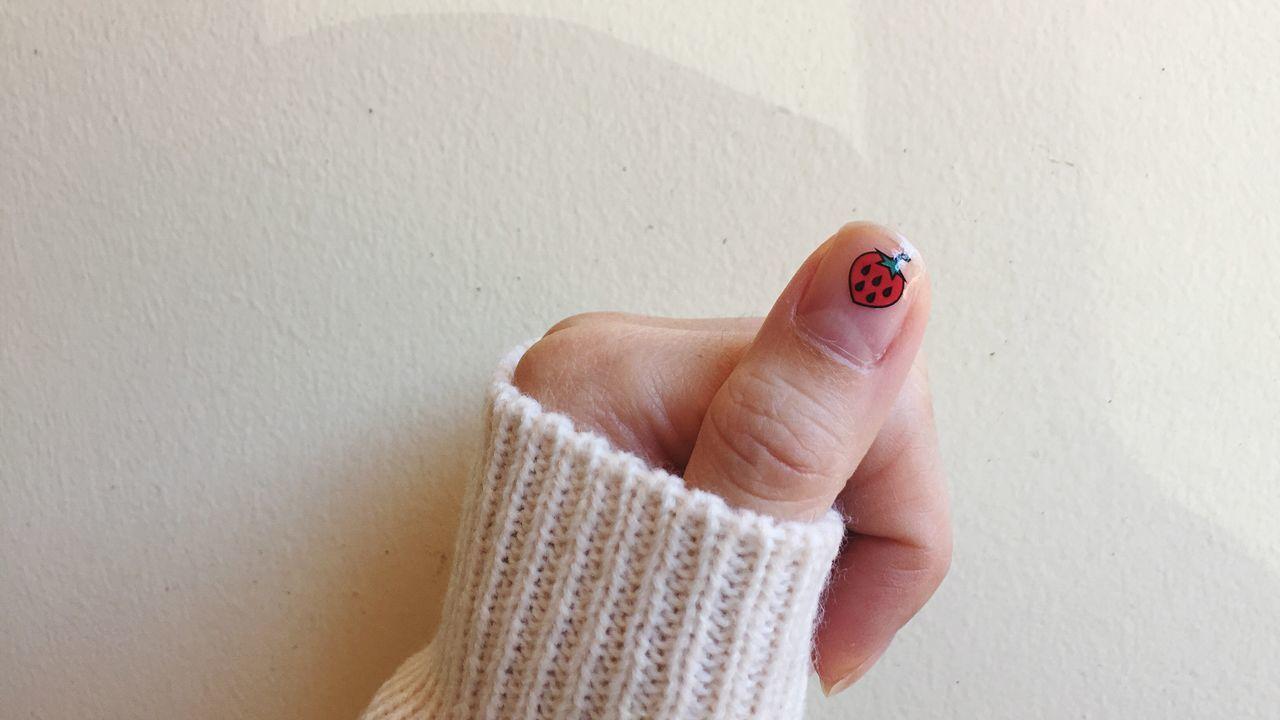 Close-Up Of Nail Art