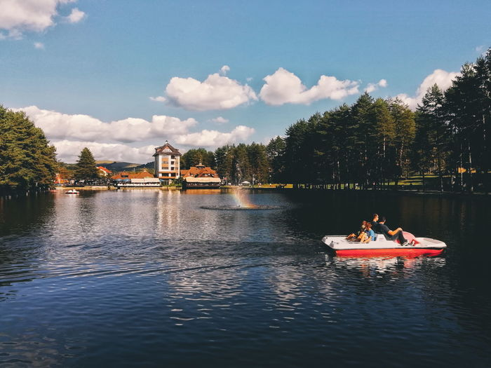 Zlatibor EyeEm Selects Eyeemphotography EyeEm Best Shots Lake View Eyremphoto Water Nautical Vessel Politics And Government Tree River Sky Architecture Cloud - Sky Waterfront