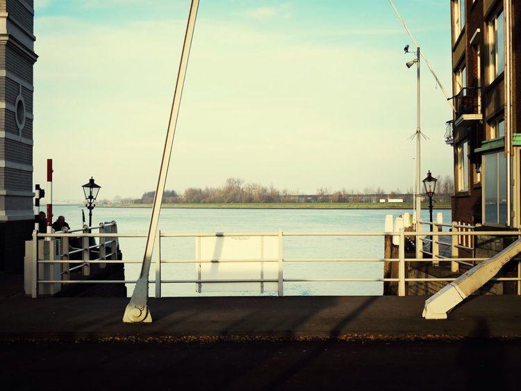 Landscape Water Reflections Dordrecht