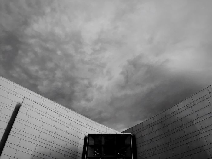 Looming storm clouds over The Concourse, Chatswood, Sydney. Open Edit Sydney Architecture Blackandwhite Monochrome IPhoneography