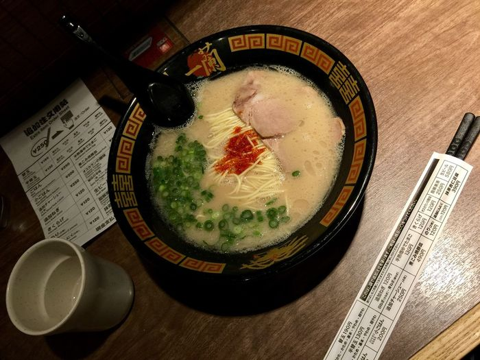 Ichiran Ramen IchiranRamen Ichiran Ramen Ichiran Ramen Noodles Ramen Noodle Ramen Japan Food Japan Food And Drink Food Freshness High Angle View Still Life Healthy Eating Table Wellbeing Indoors  Bowl No People Soup Serving Size Ready-to-eat Directly Above Refreshment Japanese Food