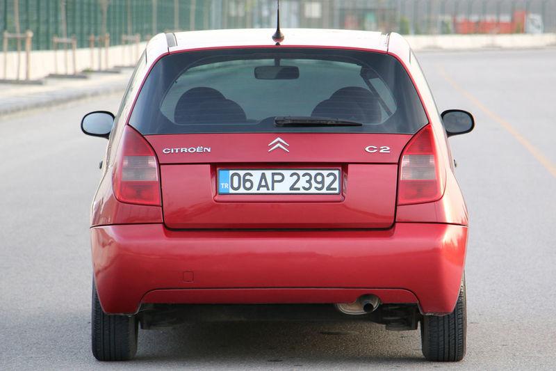 Citroen C2 Transportation Car Motor Vehicle Mode Of Transportation Red City Land Vehicle Road No People Street Day Outdoors Citroen C2 Vts Citroen C2 Citroen Vts Vtr Red Ankara Türkiye Turkey EyeEmNewHere