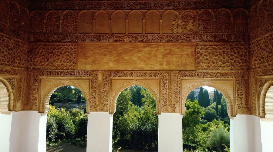 Admiring The Architecture  Alhambra Y Generalife Enjoying Life Traveling
