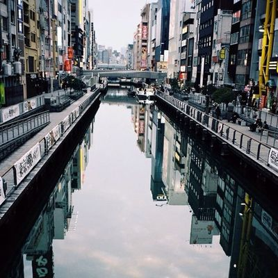 Japan OSAKA T3 Trip Travel City Contax Cymera Colorful Contaxt3 Cymeraapp Cymerians Vscocam VSCO Film 35mm River