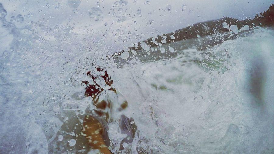 happiness Adventurer Beachday Splashing Water City Close-up Sky Wave Crashing Tide Shore Coast Beach My Best Photo