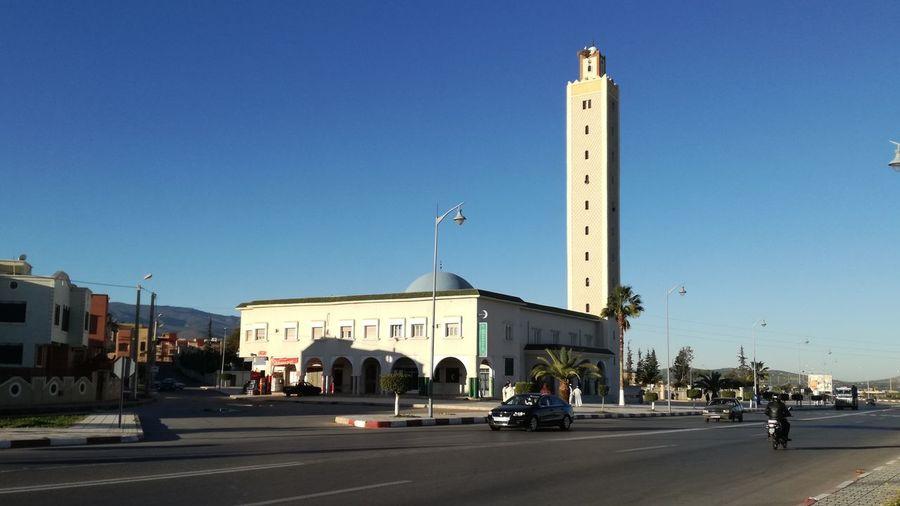 مسجد احفير طريق وجدة