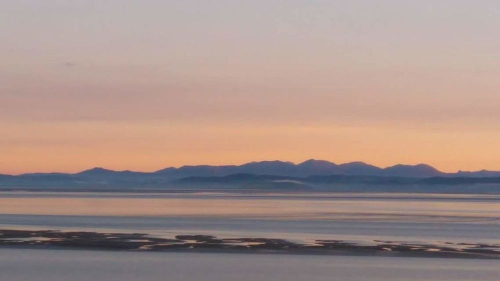 Morecambe Bay  View To Lakeland Fells Sunrise Beautiful Morning Time To Get Out Live Life Beauty In Nature Nature Outdoors Tranquility No People Beach Sea Mountain Landscape Scenery Tranquil Scene Water Clear Sky Day