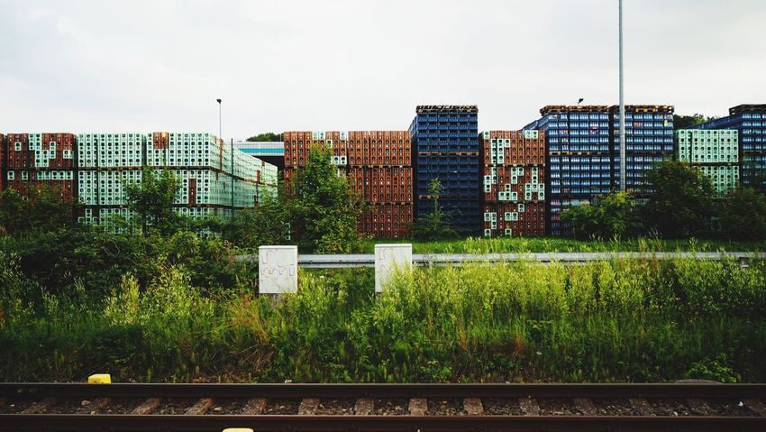 Container Railroad Track Train Bahnhof Bad Doberan Hauptbahnhof Deutschland Germany EyeEm EyeEm Best Shots EyeEm Nature Lover