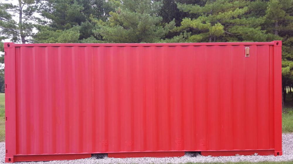 Red Box Red Container Storage Storage Compartment Storage Shed Storagesolutions Storage Unit