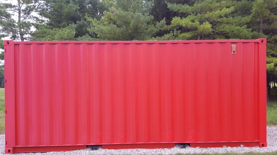Red Box Red Container Storage Storage Compartment Storage Shed Storagesolutions Storage Unit