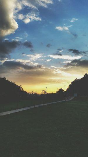 Pristina Sunset Clouds Kosovo