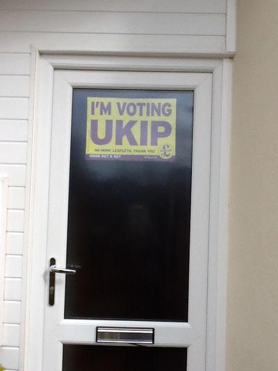 I'm Voting UKIP!