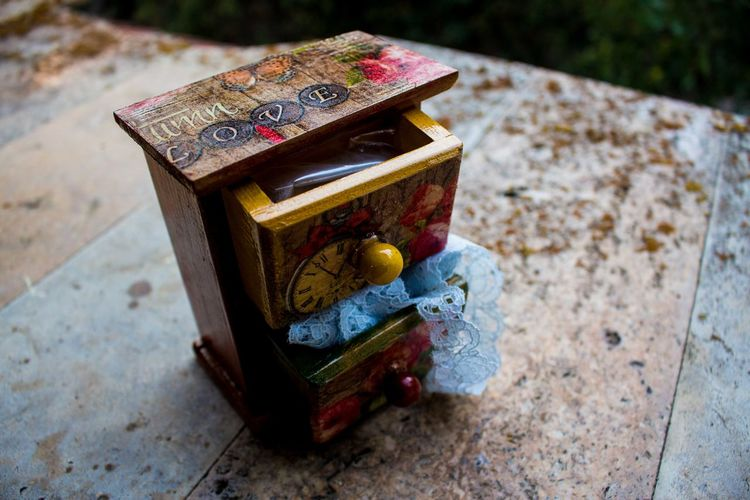 Art Art, Drawing, Creativity ArtWork Close-up DIY Drawer Focus On Foreground Handmade Handmade Jewellery History Man Made Object Model - Object No People Outdoors Street The Past Wood Wood - Material Wooden WoodLand