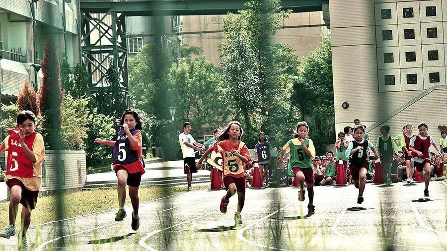 Sport Run Game Girls People EyeEm Best Edits EyeEm Best Shots People Of EyeEm Street I Love My City Taipei Taiwan