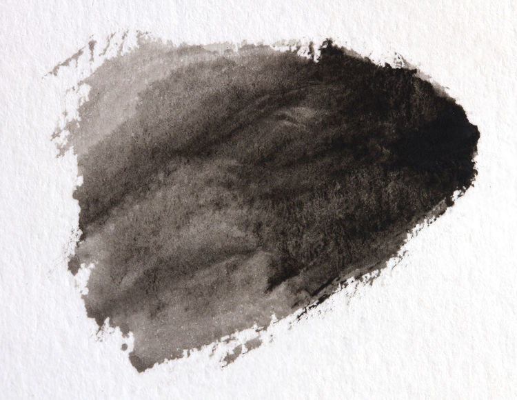 Abstract black and white watercolor light painted background or texture. Watercolour Abstract Art Backgrounds Black Color Nature No People Texture; Water