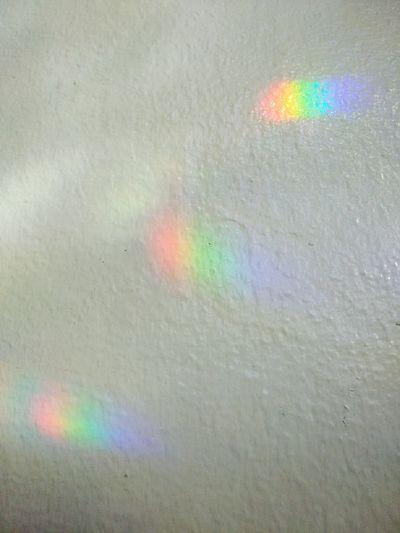 Rainbow Colors Rainbows Crystal Magic Reflections