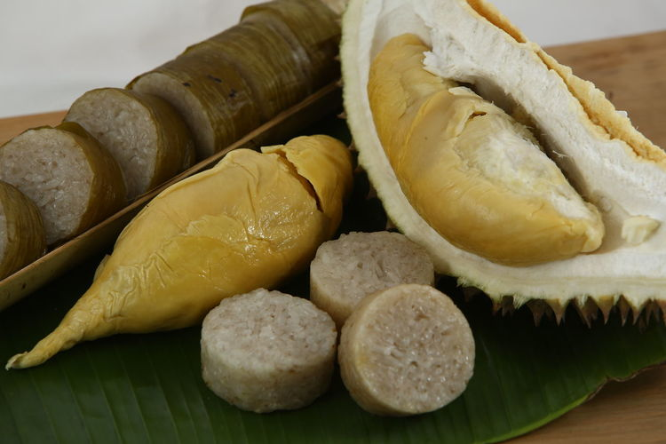 Durian Close-up Day Food Food And Drink Freshness Healthy Eating Indoors  Lemang Lemang Durian No People Ready-to-eat