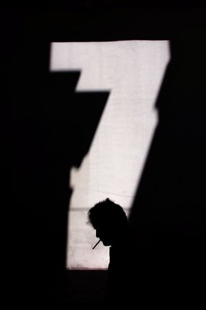 Seven Geometry Streetphotography Street Photography EyeEm Street Silhouettes Reflection Urban Geometry Urban Urbanphotography People Galata Istanbul Light High Street Cigarette  Minimal Minimalism Seven Shadow Silhouette Sunlight Focus On Shadow Mystery Architecture Built Structure