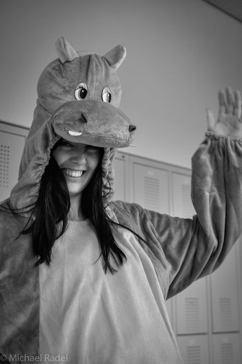 Fasching!!!:) Happy Hippo Animal_collection Bnw_collection Facce_di_carnevale