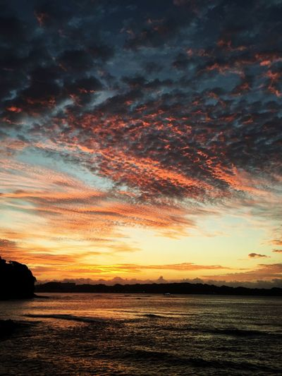 Nature_collection いつかの空 Sea And Sky Sunrise Clouds And Sky カコソラより