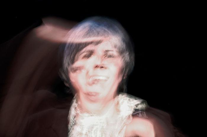 Showing Imperfection Portrait JohnRuggieri Double Exposure Face Experimental Motion Blur